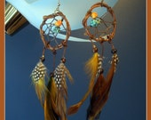 Colors of the Wind - Dreamcatcher Earrings