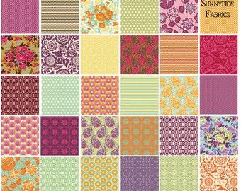 Heirloom Fat Quarter Bundle Joel Dewberry Westinster Free Spirit Fabrics 30 FQs