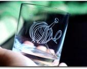 2 Knitting Pint Glass