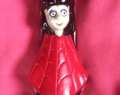 Vintage 1989 BEETLEJUICE cartoon Head Over Heels Lydia/Beetlejuice figure