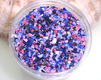 Boysenberry Frit Blend for Lampwork Bead Making 96 CoE Glass Ltd. Edition Purple Violet Amethyst Lavender Lilac Rose 2 oz. Jar