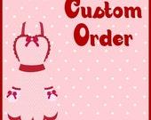 Custom order for shajuanhebron1