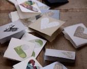 sweet nothings... ten mini cards