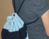 Crocheted Back Pack
