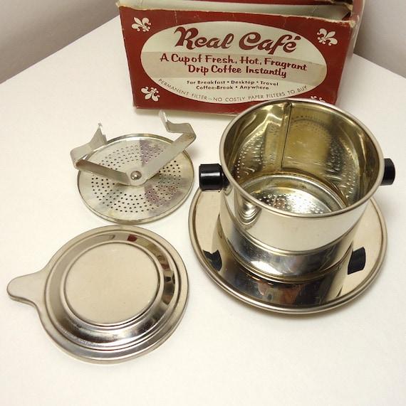 SALE: One Cup o' Joe - Vintage Marlux Drip Coffee Kit