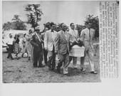 Vintage Newspaper Press Photo - Miami - Funeral For Child Victim