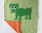 WaltersDogs Applique Blanket