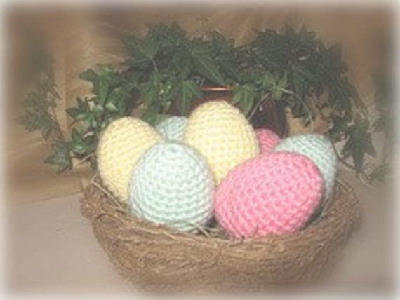 Light Pastel Easter Eggs