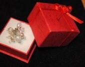 Filigree and Pearl Ring