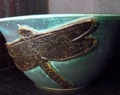 Dragonfly Pottery Planter or Bowl