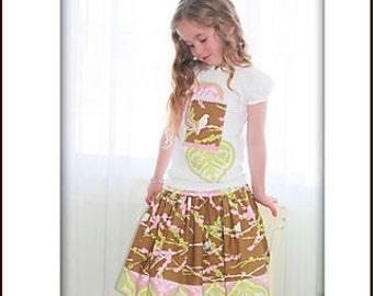 Pink Fig The GIRLY Skirt Sewing Pattern