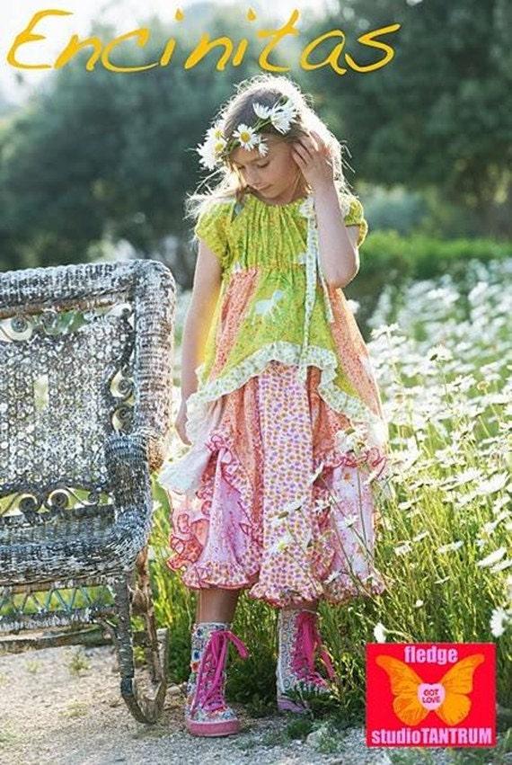 Studio Tantrum ENCINITAS Sunshine Dress Sewing Pattern