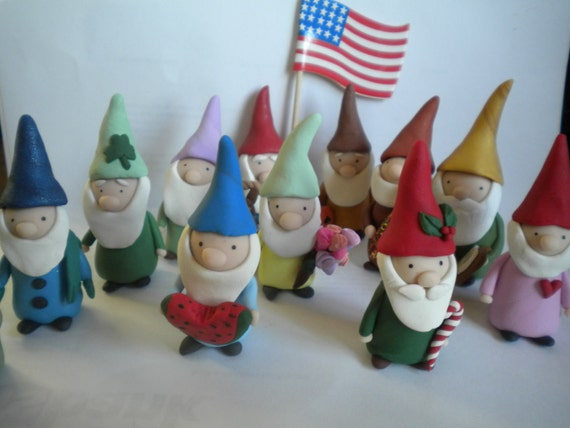 Gnomes for every month of the year