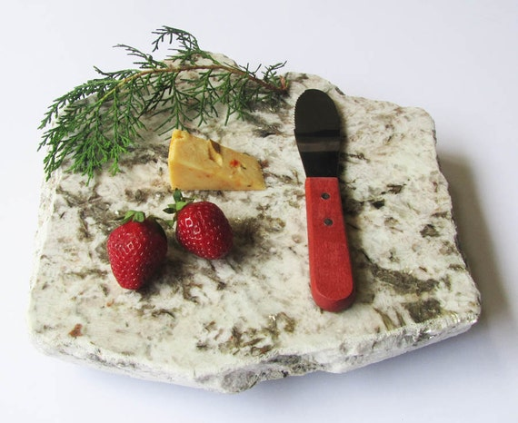 RESERVED for Anna - Elegant Rosy Hues Cheese Board