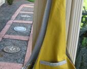 Pet Sling Large-Mustard Linen