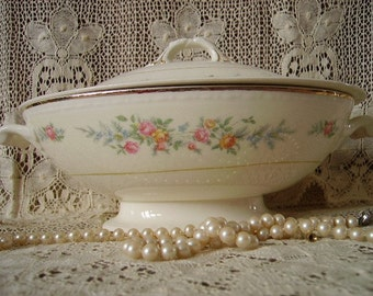 Vintage Soup Tureen with Cover Homer Laughlin
