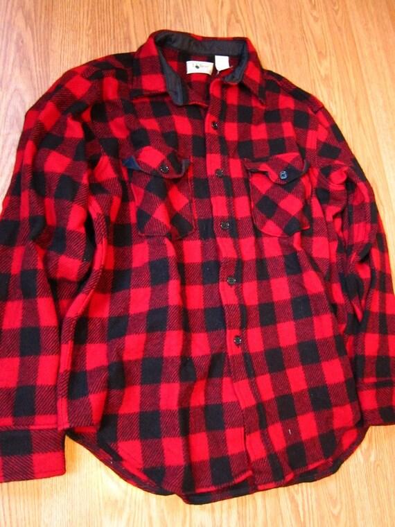 Mens Red Plaid Shirts