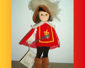 1183 Musketeer · 1984 Effanbee Doll · Storybook Collection · EX · 40% OFF SALE! · Limited Time Only ·