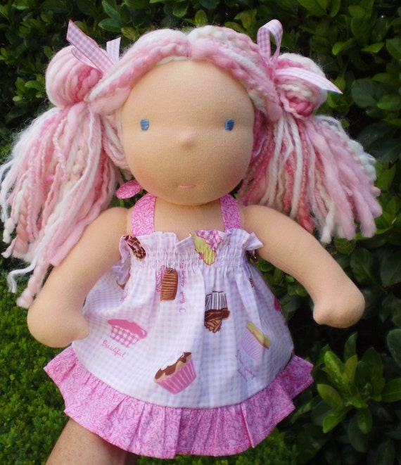 """RESERVED for Andrea BICKET  ONLY Holly  a 12"""" Waldorf Steiner Doll Final payment"""