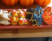 Trick-or-Treat: Mini Hand-Decorated Halloween Sugar Cookies