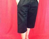 Mens Long Shorts with Pockets & Drawstring Tie