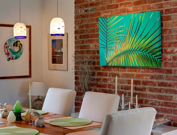 By The Pool Canvas Gallery Wrap