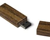 Wooden usb memory stick