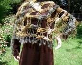 crocheted shawl--Lady in Waiting