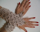 Lady Willpower fingerless gauntlets