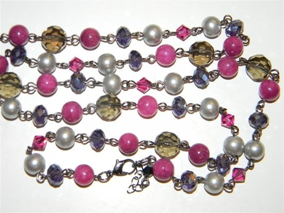 Medieval Rose Necklace