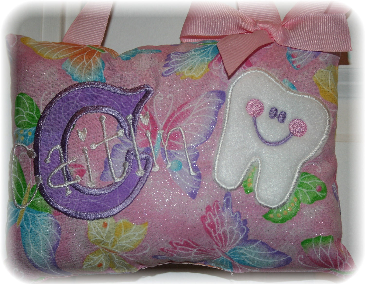 Cute Tooth Pillow : Tooth Fairy Pillow for Girls