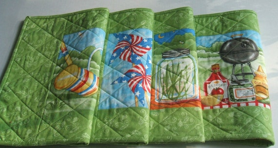 Placemats-Summer Fun by Moda-Reversible