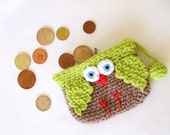 amigurumi Owl Wallet  TURKISHTEAM SALE