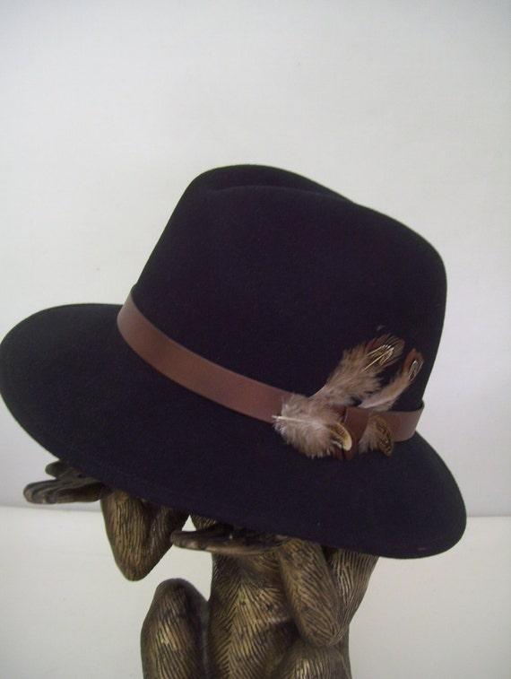 Pendleton USA Black Adventurer Wide Brim Hat