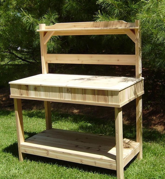 Cedar Potting Bench 28 Images 25 Best Ideas About Reclaimed Wood Benches On Pinterest Cedar