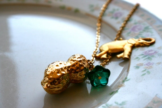 necklace - circus peanuts - last one