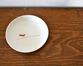 Vintage Mayer China Dish - Scampering Fox