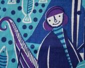Vintage Linen Placemats / The Fishermen / Fallani and Cohn