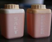 Vintage Lustro Ware Pink Salt and Pepper Shakers