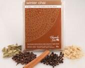 Organic Winter Chai Masala 50 grams bag, makes about 25 - 30 cups