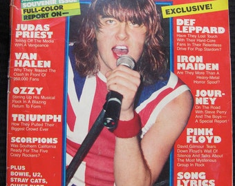 Vintage Circus Magazine August 31, 1983 Def Leppard