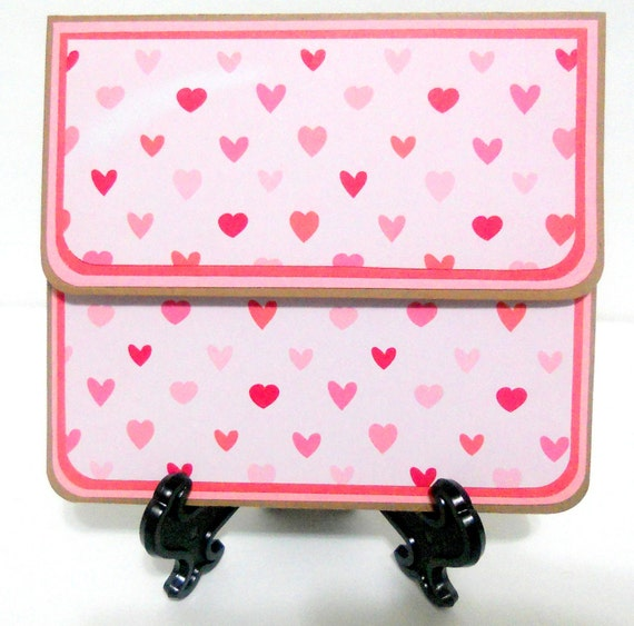 CLEARANCE-Valentine's Day Gift Card Holder