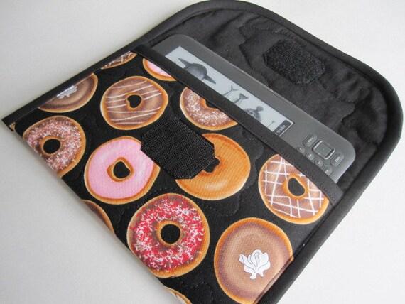 Kindle Fire, Keyboard, Keyboard 3G case, ebook cover, donuts