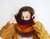 Autumn Inspired Cowl - Wool Blend