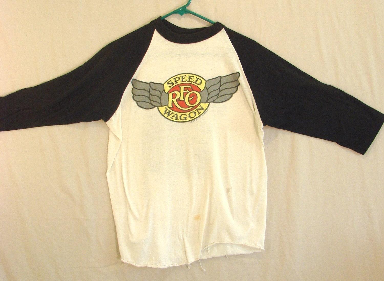 Vintage Reo Speedwagon Concert T Shirt