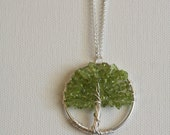 Tree Necklace in Silver