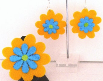 The Mango Collection (Funky Felt Flowers)
