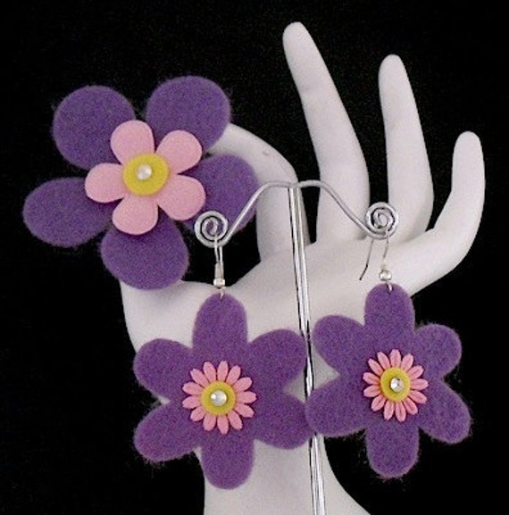 The Prince Collection (Funky Felt Flowers)