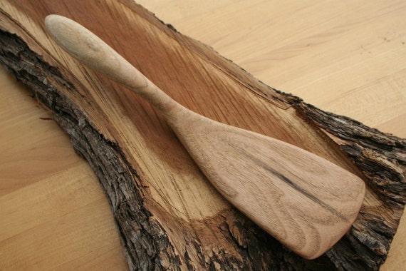 Handmade Wooden Spatula Made Of Butternut Wood