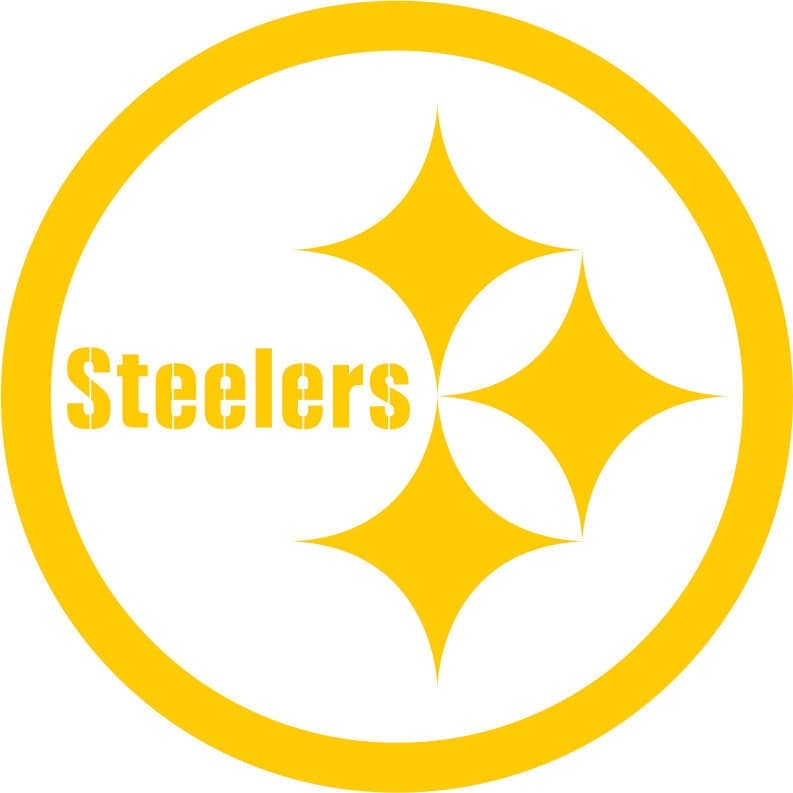 Pittsburg Steelers Vinyl Decal Car Window Sticker Custom Made